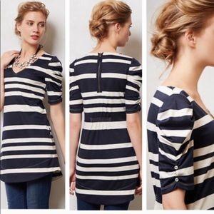 Anthropologie Deletta Ruched Tunic/Dress